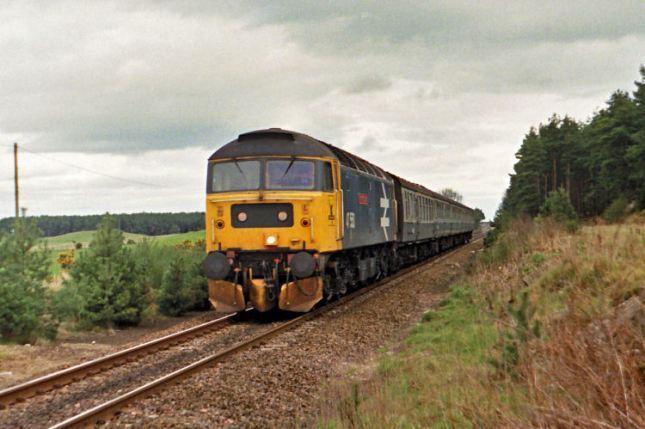 April 1988 Glasgow train
