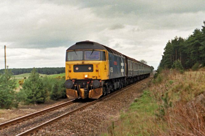 April 1988 Glasgow train