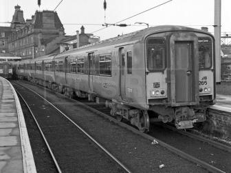 Ayr Railway Station April 2nd 1988
