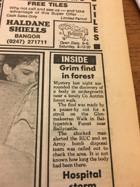 Newsletter April 21st 1988 sidebar